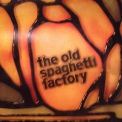 Photo taken at The Old Spaghetti Factory by Karina E. on 2/13/2012