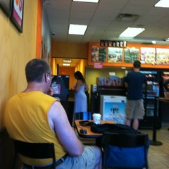 Photo taken at Dunkin' Donuts by Beverly B. on 8/4/2012