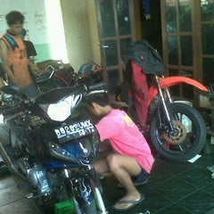 Photo taken at Kembar Racing Team by divo w. on 5/6/2012
