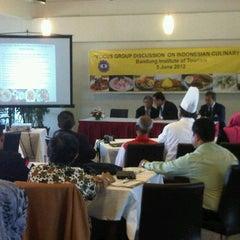 Photo taken at Nusantara Restaurant (STPB) by Adji S. on 6/5/2012