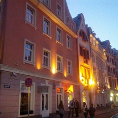 Photo taken at Vecrīga | Старая Рига | Riga Old town by Vlad K. on 8/19/2012