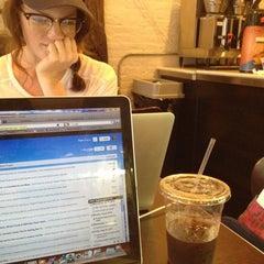 Photo taken at Effy's Cafe by Megan on 8/5/2012