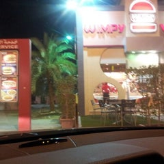 Photo taken at Wimpy by 3bdlla B. on 6/17/2012