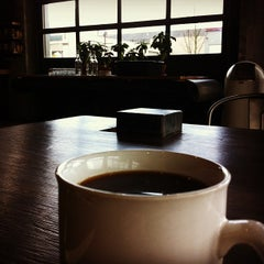 Photo taken at Coava Coffee Brew Bar by Mike M. on 3/17/2012
