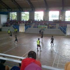 Photo taken at GOR Universitas Sebelas Maret by Reni D. on 2/14/2012