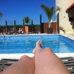 Photo taken at Praia Centro Hotel Fortaleza by Patty L. on 8/4/2012