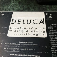 Photo taken at Deluca by Ireen H. on 8/9/2012