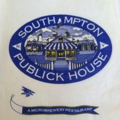 Photo taken at Southampton Publick House by Amy W. on 7/30/2012