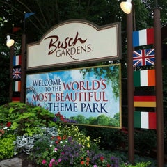 Photo taken at Busch Gardens Williamsburg by Mike C. on 8/15/2012