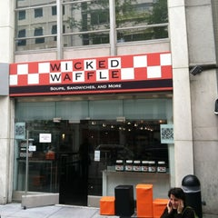 Photo taken at Wicked Waffle by David A. on 5/9/2012
