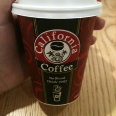 Photo taken at California Coffee by Juliana on 6/15/2012