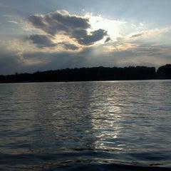 Photo taken at Deep Creek Lake by Paula B. on 7/30/2012