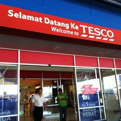 Photo taken at Tesco by iMin on 5/19/2012