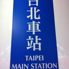 Photo taken at 捷運台北車站 MRT Taipei Main Station by CK on 4/10/2012
