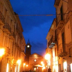 Photo taken at Piazza Rossetti by ValeRia S. on 3/8/2012