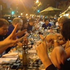 Photo taken at Trattoria Alberto of Capitol Hill by Adam B. on 7/25/2012