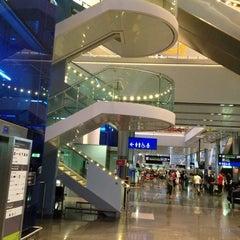 Photo taken at Terminal 2 by Alan B. on 8/16/2012