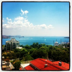 Photo taken at Hilton ParkSA Istanbul by Didem B. on 7/6/2012