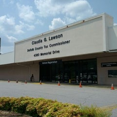 Photo taken at DeKalb County Tax Commissioner's Office by Tamara J. on 5/21/2012