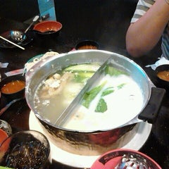 Photo taken at Shabushi (ชาบูชิ) by Suthirat S. on 2/12/2012