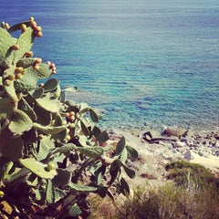 Photo taken at Spiaggia Seccheto by Simone I. on 8/22/2012