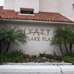 Photo taken at Hyatt Westlake Plaza in Thousand Oaks by Jack D. on 4/25/2012