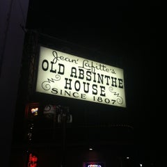 Photo taken at The Old Absinthe House by bartend4fun on 7/26/2012