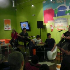 Photo taken at Orange Leaf by Rebecca G. on 2/7/2012