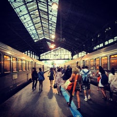Photo taken at Gare SNCF de Paris Saint-Lazare by MikaelDorian on 8/18/2012
