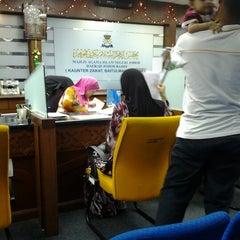 Photo taken at Jabatan Agama Islam Johor by yana n. on 9/7/2012