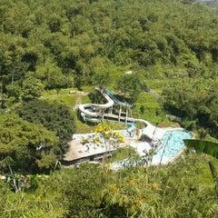 Photo taken at Wisata air terjun curug luhur (bogor) by Tyo Itu A. on 3/24/2012