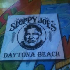Photo taken at Sloppy Joe's by Joni B. on 4/26/2012