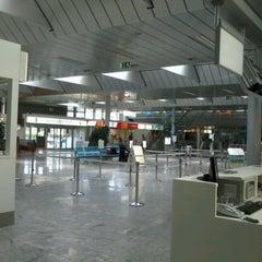Photo taken at Blue Danube Airport Linz (LNZ) by Demet K. on 8/29/2012