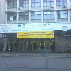 Photo taken at Universitatea de Vest by Ionut K. on 4/26/2012