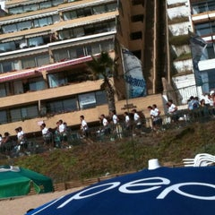Photo taken at Sector 3 - Playa Reñaca by Adriana Belén S. on 2/24/2012