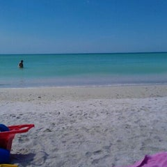Photo taken at Ted Sperling Park at South Lido Beach by Nina F. on 3/13/2012