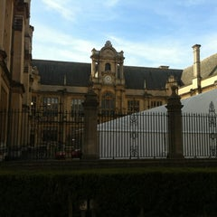Photo taken at Oxford University Examinations Schools by Gencer T. on 3/25/2012