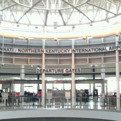Photo taken at Cincinnati / Northern Kentucky International Airport (CVG) by Mark P. on 6/29/2012