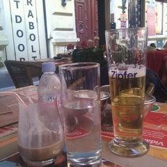 Photo taken at Trattoria Étterem/Restaurant by Dzvinka M. on 5/20/2012