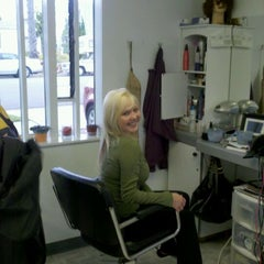 Photo taken at Teasers Hair Salon by Taki on 4/24/2012