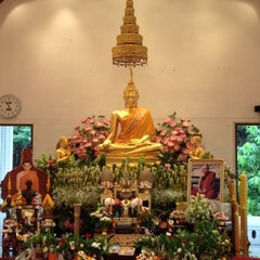 Photo taken at Rama IX Golden Jubilee Temple by Yupadee T. on 8/3/2012