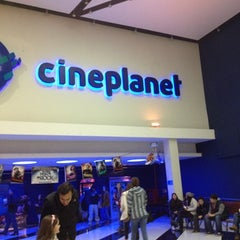 Photo taken at Cineplanet by Trinidad G. on 8/11/2012