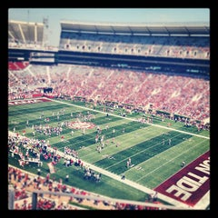 Photo taken at Bryant-Denny Stadium by Jim H. on 4/15/2012