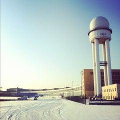 Photo taken at Tempelhofer Park by Nathaniel G. on 2/6/2012