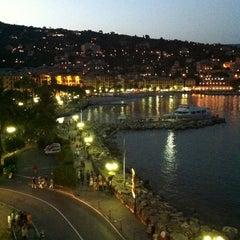 Photo taken at Lungomare di Santa Margherita Ligure by Bianca G. on 6/30/2012