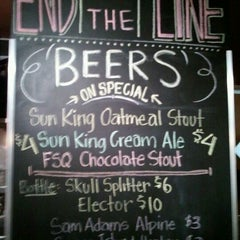 Photo taken at End Of The Line Public House by Matt A. on 2/26/2012