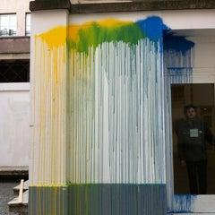 Photo taken at Galerie du Jour - Agnès B. by Maria S. on 2/24/2012