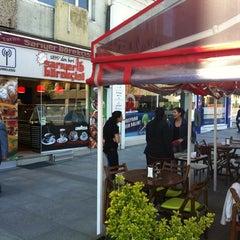 Photo taken at Tarihi Sarıyer Börekçisi by Kaan P. on 4/22/2012