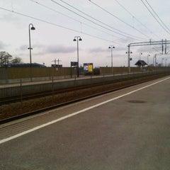 Photo taken at Rygge stasjon by Rowland W. on 4/24/2012