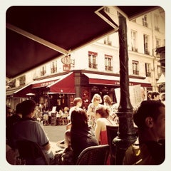 Photo taken at Au Rocher de Cancale by • Marion Crane • on 6/30/2012